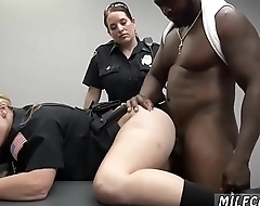 Blonde dildo blowjob Milf Cops