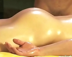 Crestfallen Anal Massage For His Ass