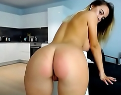 Stunning showing perfect boobs and nuisance live