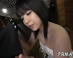Wicked asian slit toying