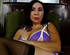 Dirty talking old spunker fucks her fat juicy pussy depending on she cums be fitting of you