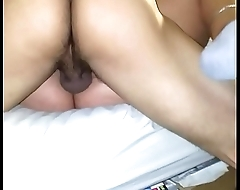 Wifey playing with her friend again