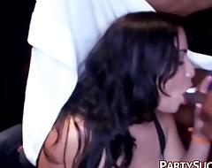 Sexy College Ladies Suck Strippers