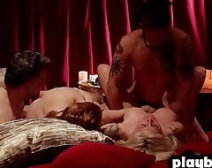 Crazy swinger couple enjoys fucking with other couples