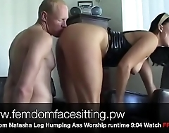 Femdom Natasha Leg Humping Ass Worship