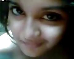 Very very cute girl selfi desi gf