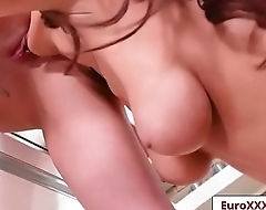 Pussy For Breakfast with Lyen Parker and Darcee Lee free video part-03 from Euro Sex Parties