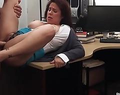 MILF Sucking Dick to Bail her man Glory in Jail - XXX Pawn
