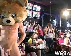 Dancing bear adult