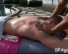 Homo massage experience