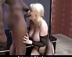 White Slutty wife is gangbanged by BBCs 11