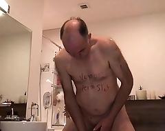 dirty slut piss cum and teethbrushing
