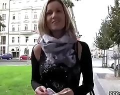 Public Dick Sucking In Europe With Sexy Bungling Teen 09