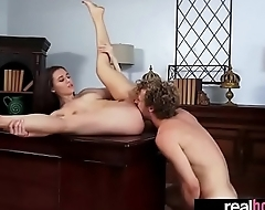 (lana rhoades) Teen Sexy GF Banged Hardcore On Camera vid-20