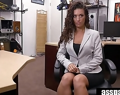 Real Spycam Sex: Victoria Banxxx Trades Sex Be incumbent on a Laptop