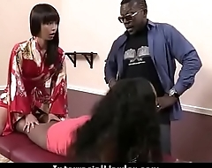 Beautiful girl fucked hard by big black dick 6