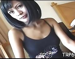 Fortunate cadger fucks a thai slut
