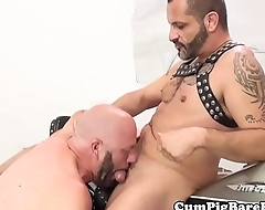 Bareback greywolf cocksucked with the addition of assfucked