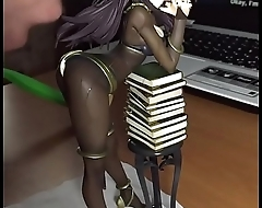 Cum on Tharja Figure (Bukkake) SoF