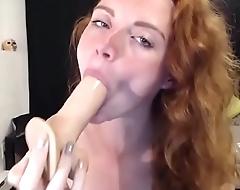 Big tits babe free blowjob tease