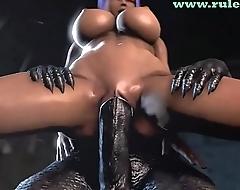 Ultimate 3D Monster Porn Compilation