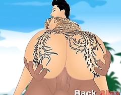 Bella Bellz obese ass pawg cartoon backalleytoonzonline.com