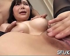 Cock sucking oriental bitch