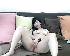 Aisan girl tiny clit fingering online