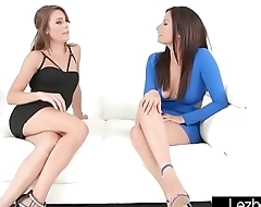Girl On Girl Sex Action With Superb Lesbos (Ally Tate &amp_ Alexis Deen) movie-02