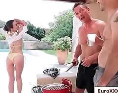 Double Dicking Doll with Tiffany Doll free video part-01 from Euro Sex Parties