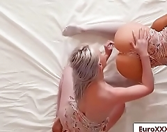 Angels In Lace with Lola Taylor and Clea Gaultier free video part-01 from Euro Sex Parties