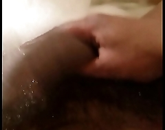 Sulky dick slanging and slapping
