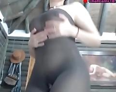 nasty chunky ass milf cumming
