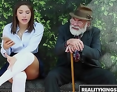 RealityKings - Teens Adulate Huge Cocks - (Abella Danger) - Bus Bench Creepin