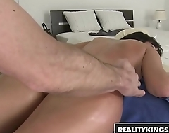RealityKings - Mikes Apartment - Clink Ice, Nia Black - Massaging It In