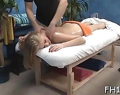 Massage parlor sex movie scene