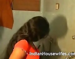 Indian Wife Filmed Taking Shower Exposed By Her Scrimp