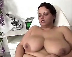 Busty girl in heat #1