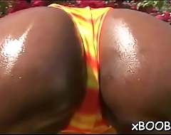 Pleasant breasty lady loves lechery