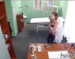 Nasty doctor cant get sufficiently of sex