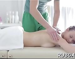 Massage cheerful ending porn