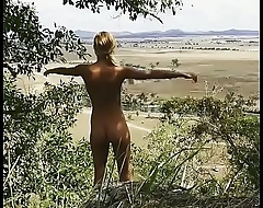 A Hot Sexy Teen Girl Naked Nude Walk In The Jungle