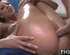 Massage dildo