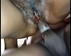 french amateur, black girlfriend
