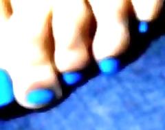 Crystal Blue Pedicure