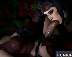 Nurse's aide HARLEY QUINN 3D Sexual relations COMPILATION PART 11