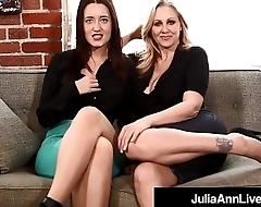 Femdom Milf Julia Ann &amp_ Kimberly Kane Apologize You Submit Sissy!