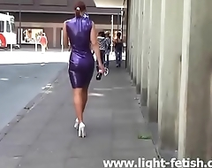 Hot Milf in Heels Latex Stockings. See part2 at goddessheelsonline.co.uk