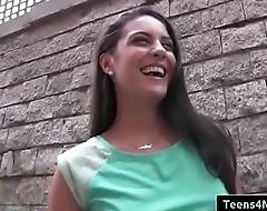 Teens Love Money Porno - Spanish Waitress Fucks For Assets roughly Carolina Abril-02