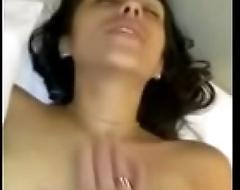 Busty Latina FuckHard Creampied and Swallow